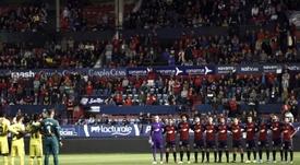 El fútbol español guardará un minuto de silencio por las víctimas del COVID-19. EFE/Archivo