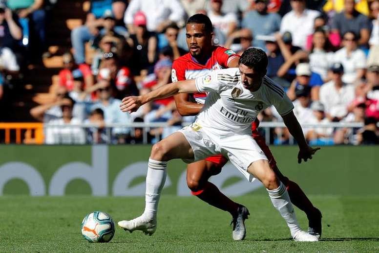 Zidane reaping the benefits of Valverde. EFE