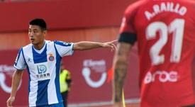 La llamada de China a Wu Lei hace temer al Espanyol. EFE