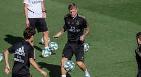 Bale, Modric y Lucas Vázquez, bajas ante el Mallorca. EFE