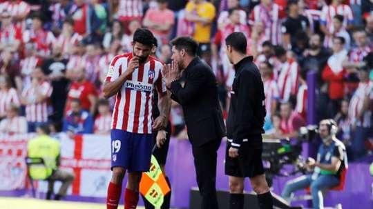 Diego Costa volta a ser convocado. EFE/ R. García