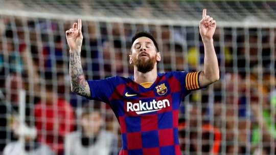 Le Brexit pourrait écarter Cristiano et Messi de la Ligue des champions. EFE