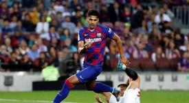 Valverde perde Lenglet e chama Araújo e Morer para próximo jogo. EFE/Toni Albir