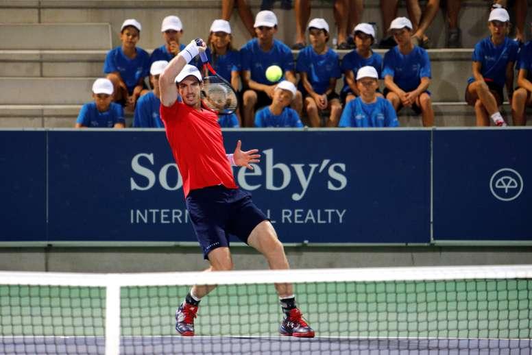 El britanico Andy Murray. EFE / Clara Margais/Archivo