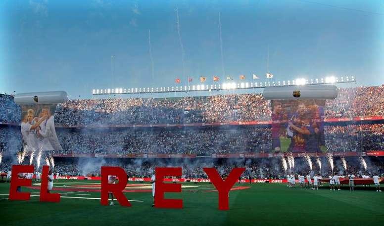 La última final de la Copa del Rey se celebró en el Benito Villamarín. EFE