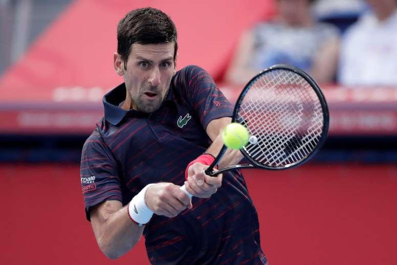 El tenista serbio Novak Djokovic. EFE/ Kiyoshi Ota /Archivo