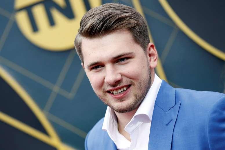 En la imagen, el jugador esloveno de baloncesto Luka Doncic. EFE/Etienne Laurent/Archivo