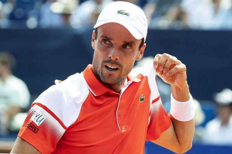 El tenista español Roberto Bautista. EFE/PETER SCHNEIDER