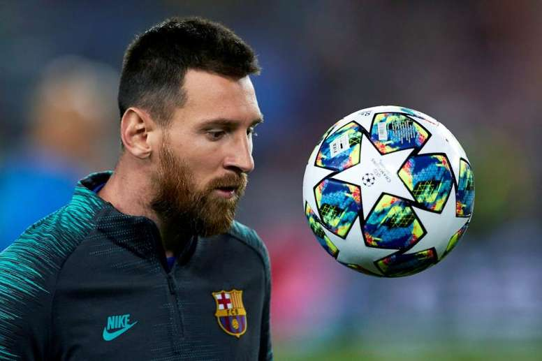 Messi spoke about the club that he loves. EFE