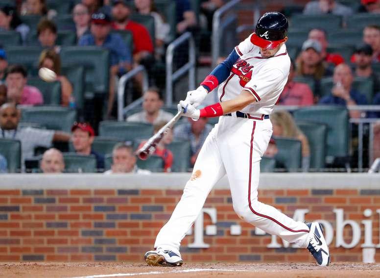El segunda base Ryan Flaherty. EFE/Erik S. Lesser/Archivo