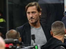 Francesco Totti en dit plus sur sa reconversion. EFE