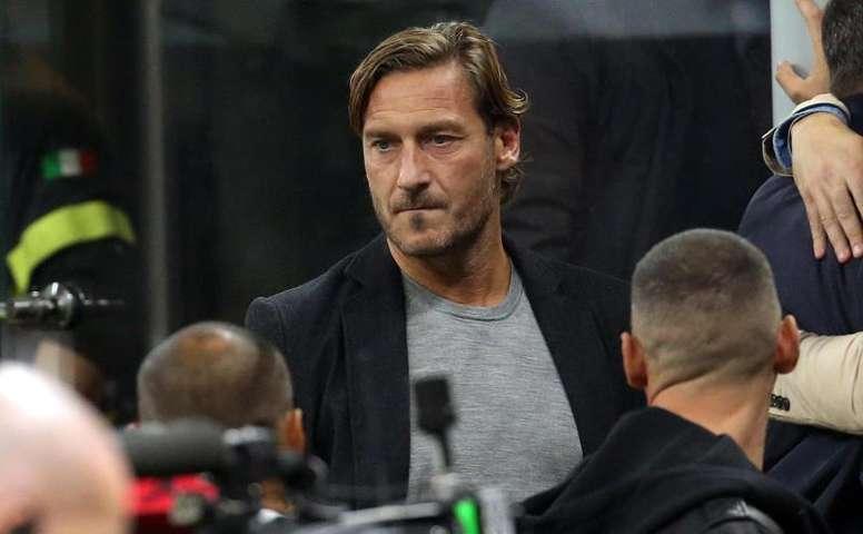 Totti n'écarte pas un retour à la Roma. GOAL