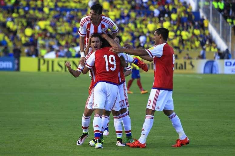 Paraguay medirá su nivel ante Serbia. EFE