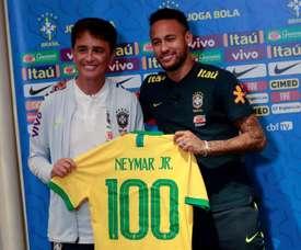 Neymar es centenario. EFE