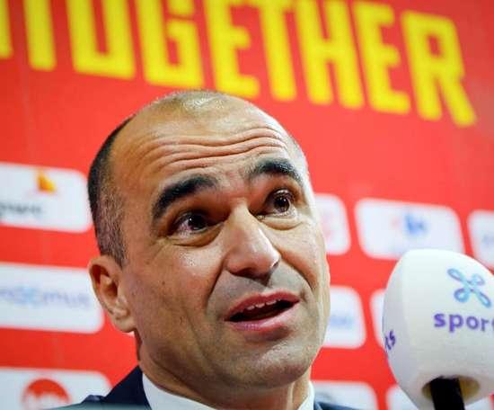 Técnico da Bélgica elogia a liderança de Hazard. EFE/José Villalgordo/Archivo