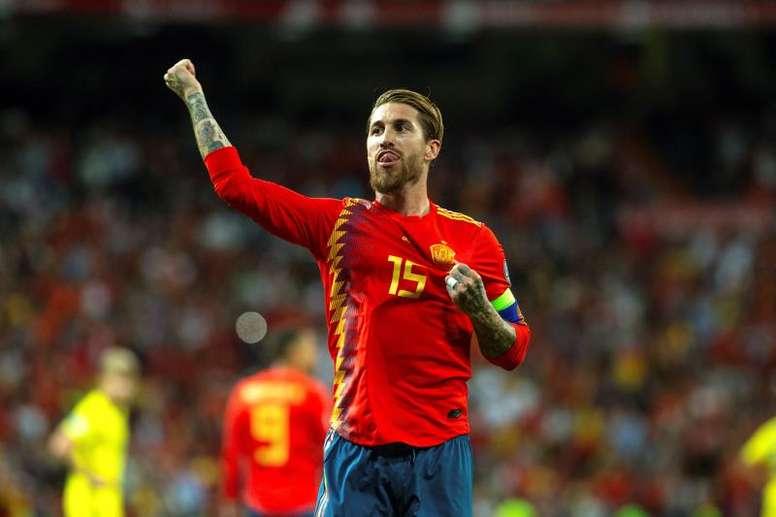 Ramos voudrait aller aux Jeux Olympiques de 2020. EFE