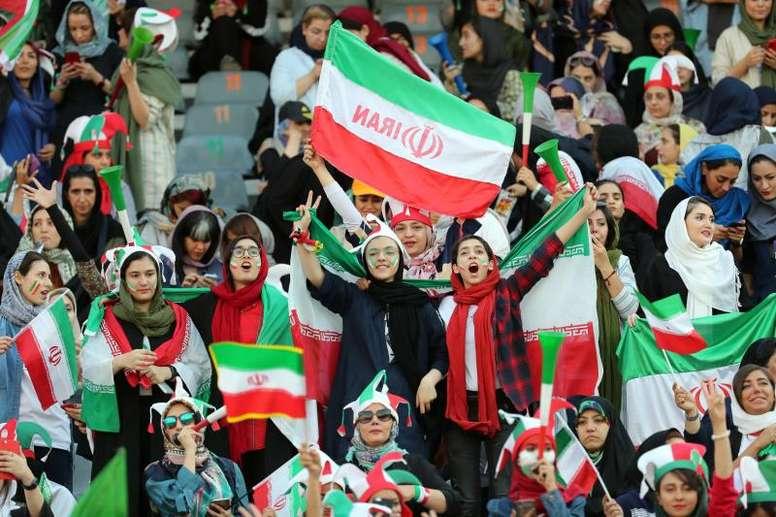 Succès historique pour l'Iran. AFP