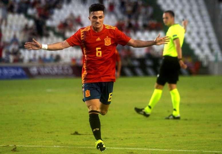 El centrocampista completó un gran partido. EFE
