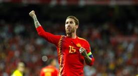 Ramos veut jouer les Jeux Olympiques. EFE