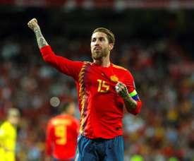 Sergio Ramos ne sera pas porte-drapeau aux J.O. EFE
