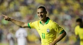 Antony se lució en su último partido con São Paulo. EFE