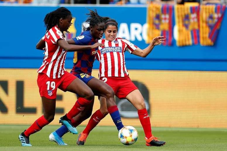 El fútbol femenino español seguirá en huelga. EFE