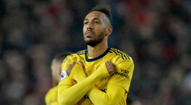 Aubameyang lidera los objetivos del Arsenal. EFE