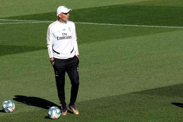 ¿La flor de Zidane? EFE