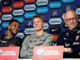 Odegaard prêt à jouer contre 'ses amis'. AFP