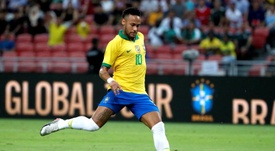 Quatre semaines d'absence pour Neymar. EFE