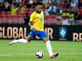 Les compos probables du match amical entre le Brésil et le Nigéria . EFE