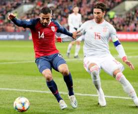 Moreno encense Sergio Ramos. EFE