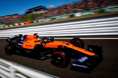 El Fórmula Uno de Carlos Sainz. EFE/EPA/DIEGO AZUBEL