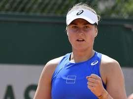 La tenista sueca Rebecca Peterson. EFE/Julien De Rosa/Archivo
