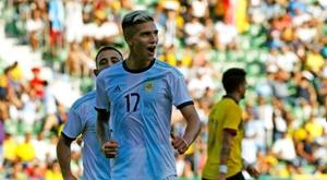 A Seleção Argentina contará com a volta de Messi. EFE/Manuel Lorenzo