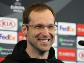 Petr Cech sigue la estela de Michael Jordan. EFE/Archivo
