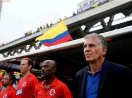 Colombia tendrá que jugar sin Zapata. EFE