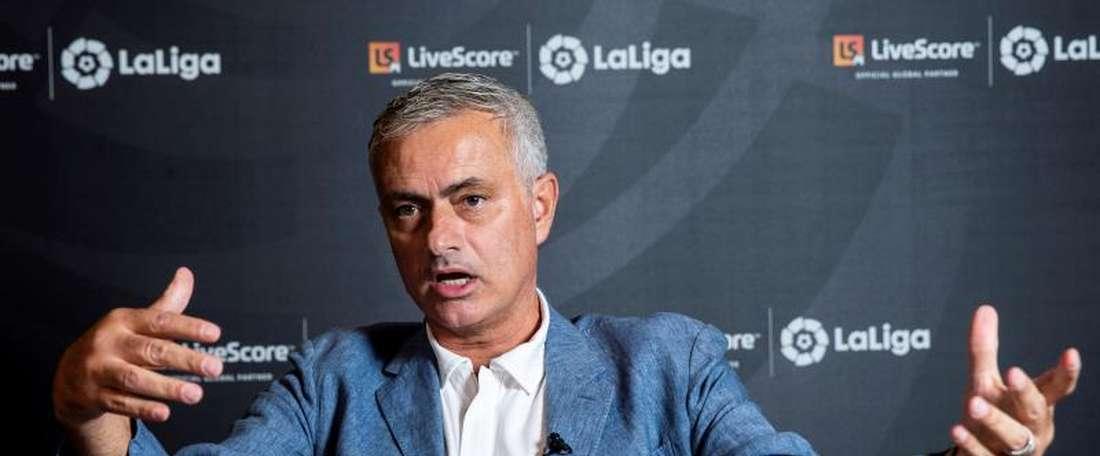 Il tecnico lusitano ex Real e Inter, Mourinho. EFE