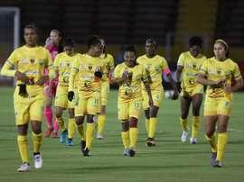 Paso firme de Huila y Cuenca en la Libertadores femenina. EFE