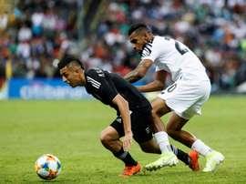 Crystal Palace in the running for Roberto Alvarado. EFE