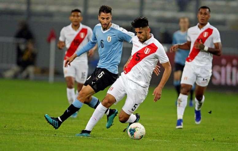 Perú desestimó el amistoso ante Panamá. EFE