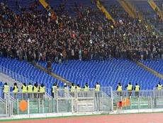 La UEFA tomó cartas en el asunto. EFE