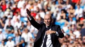 Les trêves réussissent bien à Zidane. EFE/Juan Carlos Hidalgo/Archivo