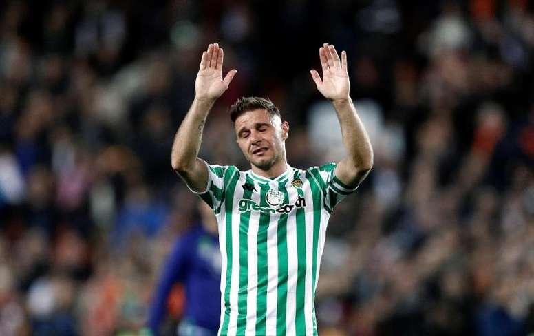 Joaquin apologised to Vinicius. EFE