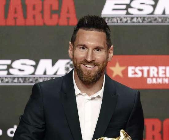 Les 10 meilleurs joueurs du monde selon Messi. EFE/Andreu Dalmau