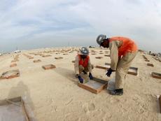 Catar sigue trabajando en el Mundial de 2022. EFE