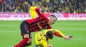 Nueva jornada en una Bundesliga igualadísima. EFE