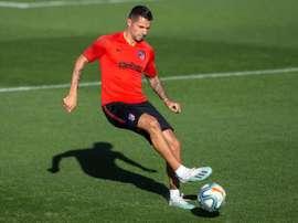 Vitolo volvió al grupo tres semanas después. EFE