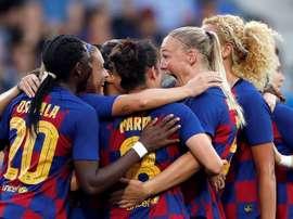 El Barça retransmitirá al femenino en casa. EFE