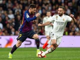 Dani Carvajal talked about the 'Clasico' and the rivalry with Barcelona. EFE